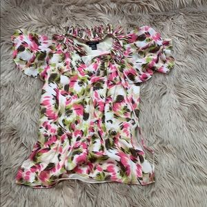 Beautiful Etcetera Blouse with stunning flowers